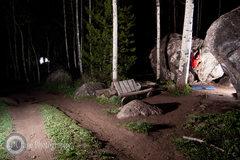 Rock Climbing Photo: Self Portrait bouldering in the Klettergarden in C...