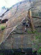 Rock Climbing Photo: Jimmy again