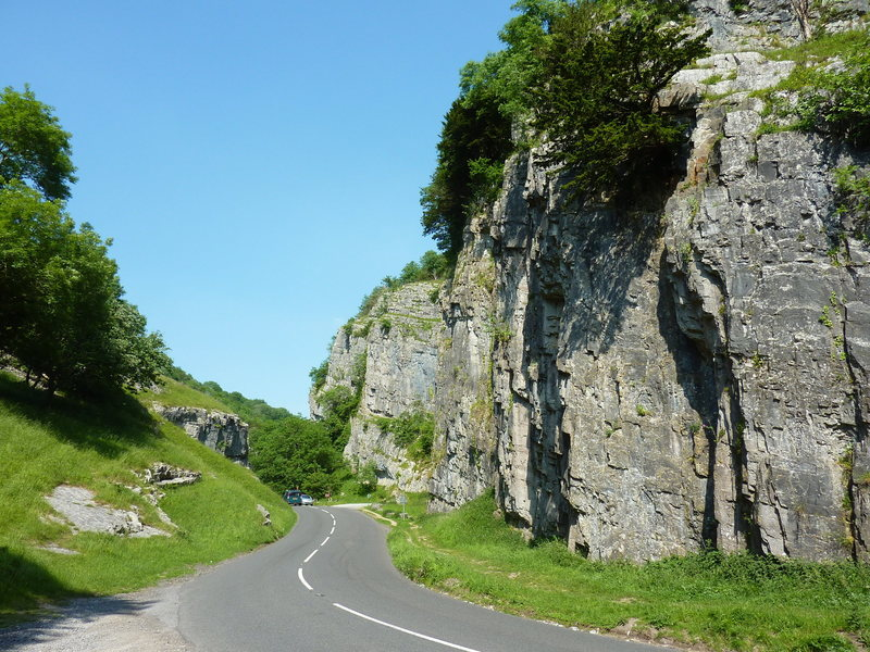 Roadside climbs in Cheddar Gorge
