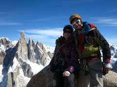 Rock Climbing Photo: Cumbre, St.Exupery, Patagonia