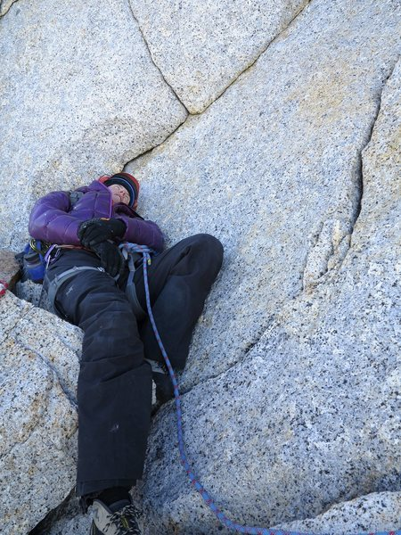 Rock Climbing Photo: Patagonia makes one tired.