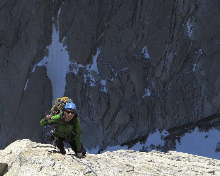 Climbing Chiaro di Luna, St.Exupery
