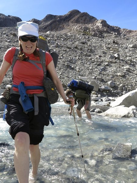 Rock Climbing Photo: No need to filter the water in Patagonia,  unless ...
