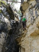 Rock Climbing Photo: Sent, thanks for the beta SteveZ!  I am such a bet...