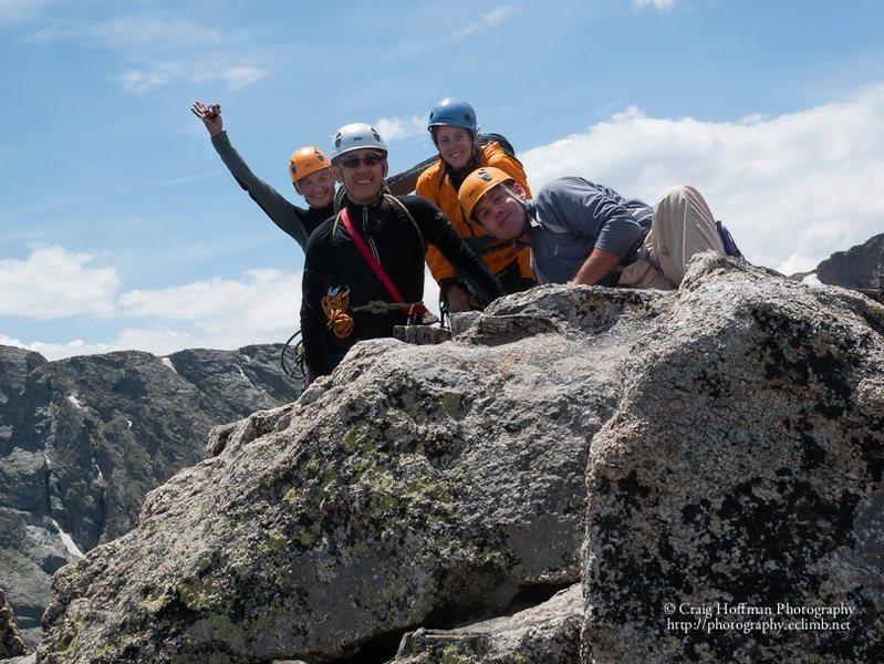 Sharkstooth Summit - my first alpine climb