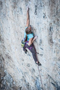 Rock Climbing Photo: Melissa again on Soul crusher. This is the awesome...