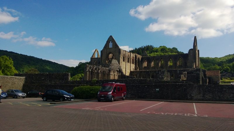 Rock Climbing Photo: Tintern Abbey