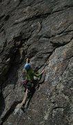"Rock Climbing Photo: Jenny on ""Isle of Everywhere"" (5.8 ***),..."