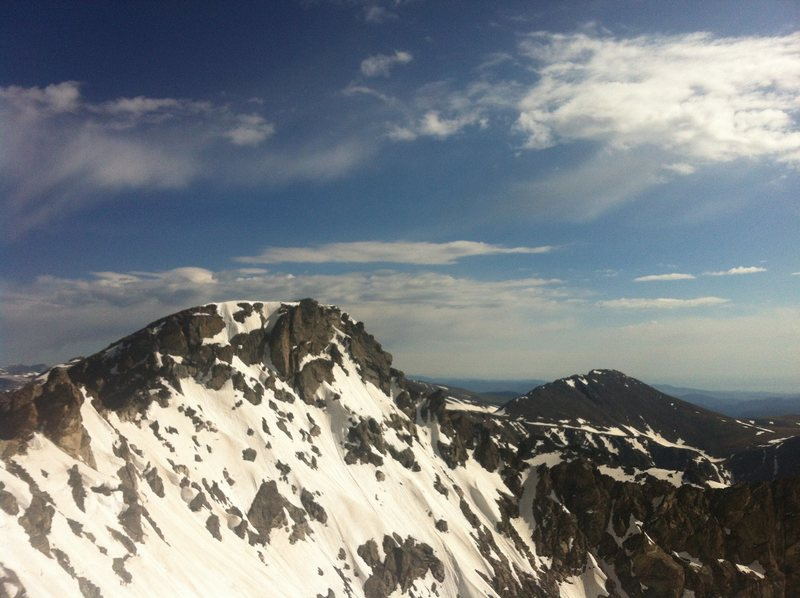 Rock Climbing Photo: North Arapaho Peak.