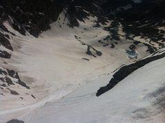 Rock Climbing Photo: Glacial basin between N and S Arapaho. Boulder wat...