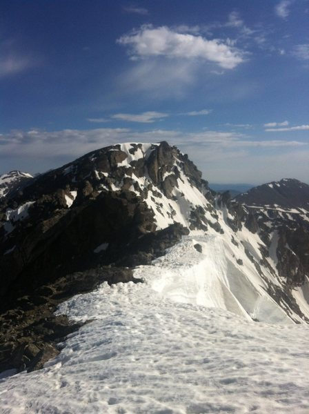 North Arapaho Peak as seen from the N/S Arapaho traverse.