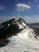 Rock Climbing Photo: North Arapaho Peak as seen from the N/S Arapaho tr...