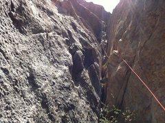 Rock Climbing Photo: More chimney.
