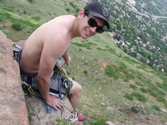 Rock Climbing Photo: Chilling on top of D's.