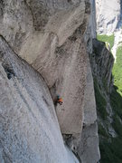 Rock Climbing Photo: 2nd pitch splitter!