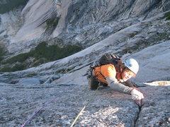 Rock Climbing Photo: Sending!