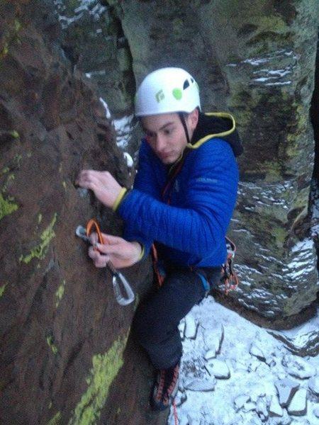 Rock Climbing Photo: Fear
