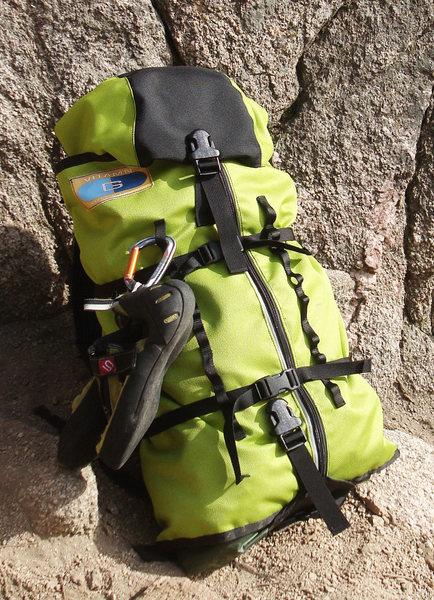 Rock Climbing Photo: Best Rope Bag EVAR!