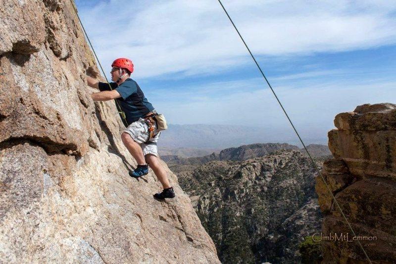 Rock Climbing Photo: Climbing near Hitchcock