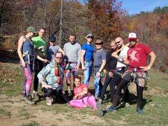 Rock Climbing Photo: Spandex Saturday at HCR