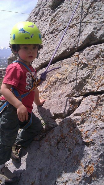 Rock Climbing Photo: Getting ready to crush