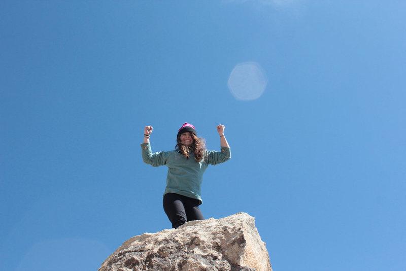 VB loves climbing!