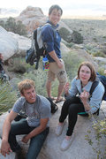 Rock Climbing Photo: best recommendation ever by Daniel after getting l...