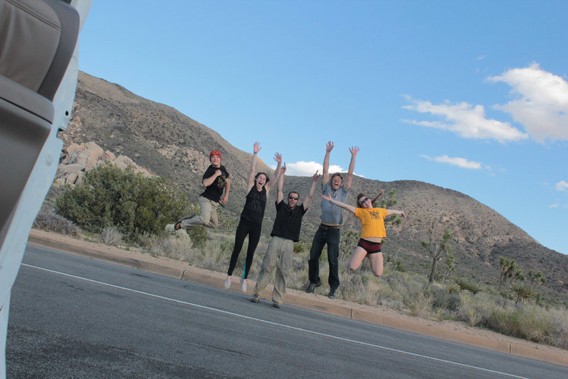 we ALL love climbing! (Photo credit: Veronica Beman)
