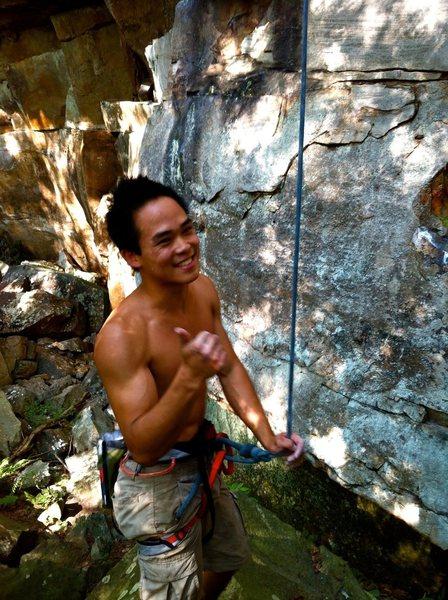 Rock Climbing Photo: gotta love an unexpected send!