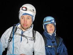 Rock Climbing Photo: Starved, dehydrated, frozen, sleepless.... damn yo...