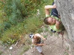 Rock Climbing Photo: Abby