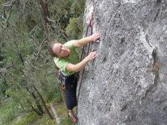 Rock Climbing Photo: Focus