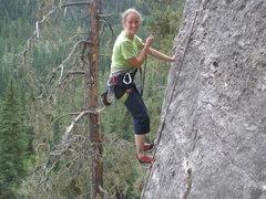 Rock Climbing Photo: first 5.10 flash circa 2010