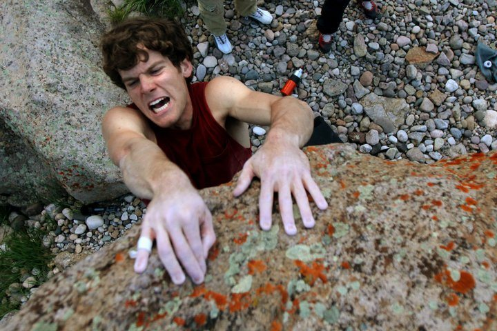Rock Climbing Photo: Bowderin