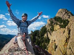 Rock Climbing Photo: Victory