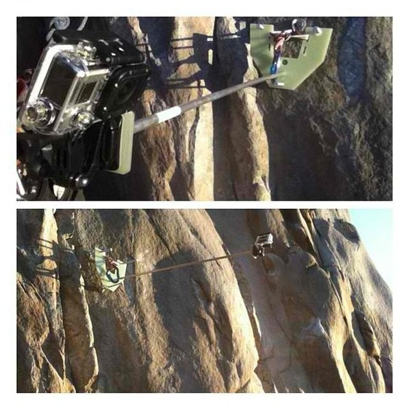Rock Climbing Photo: Old rock climb camera.