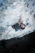 "Rock Climbing Photo: Pawel is just leaving the ""cave"" at abou..."