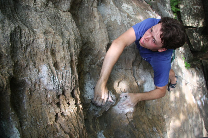 Approaching the anchors of Hurt 5.10c