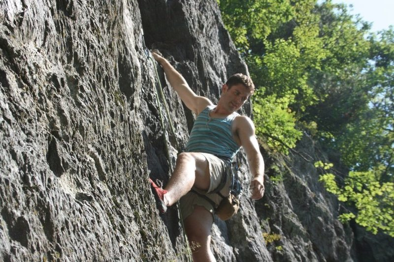 Rock Climbing Photo: In Rumney NH