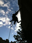 Rock Climbing Photo: Just hanging around...on Tanks for Huecos in the S...