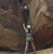 Rock Climbing Photo: belaying.