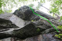Rock Climbing Photo: da route