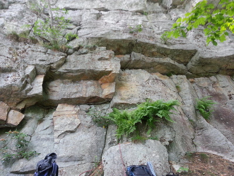 Rock Climbing Photo: By The Toe climbs the right of the corners.  Catni...