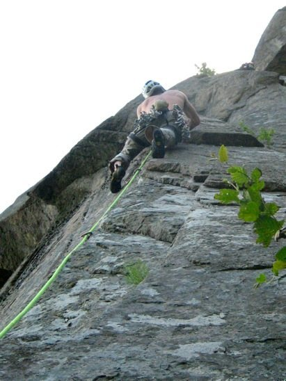 Rock Climbing Photo: Casual Observer, pitch 2