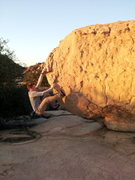 Rock Climbing Photo: Couple moves from the start