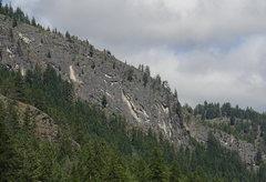 Rock Climbing Photo: Tonata Creek Wall (Wall of Early Morning Light) fr...