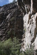 Rock Climbing Photo: Not Rifle but still steep.