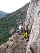 Rock Climbing Photo: Hungover!!