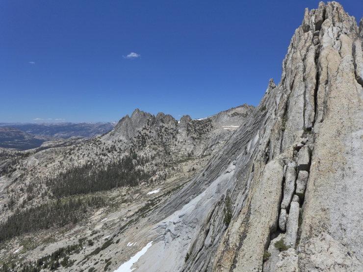 looking toward Echo Peaks