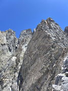 """Rock Climbing Photo: gendarme after the """"guard tower"""""""